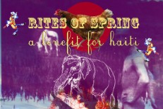 Rites Of Spring: A Benefit For Haiti