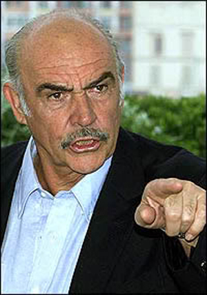 Image result for sean connery angry
