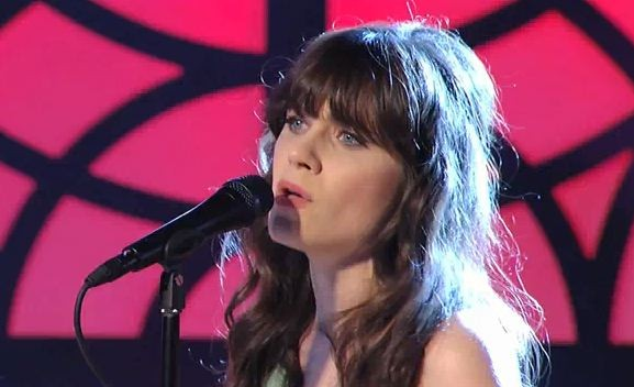 "She & Him Bring ""Thieves"" To Kimmel"