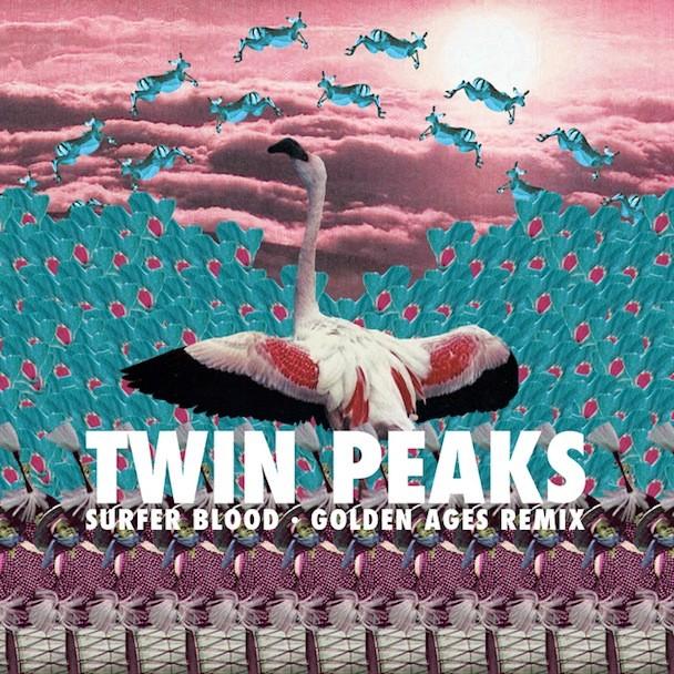 "Surfer Blood - ""Twin Peaks (Golden Ages Remix)"""