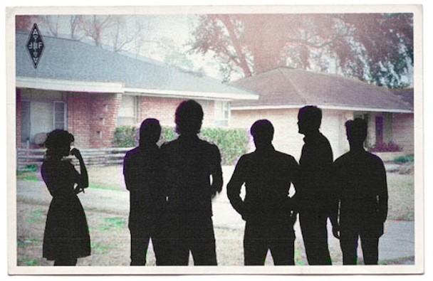 Arcade Fire Postcard PR 2010