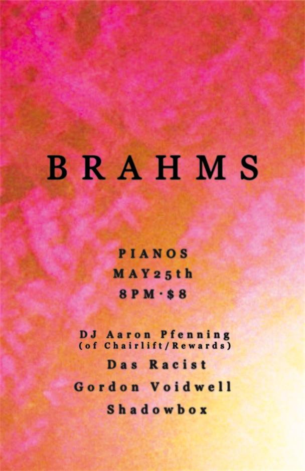 BRAHMS - Residency