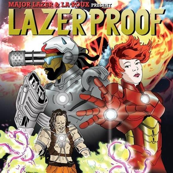 Lazerproof Album Art