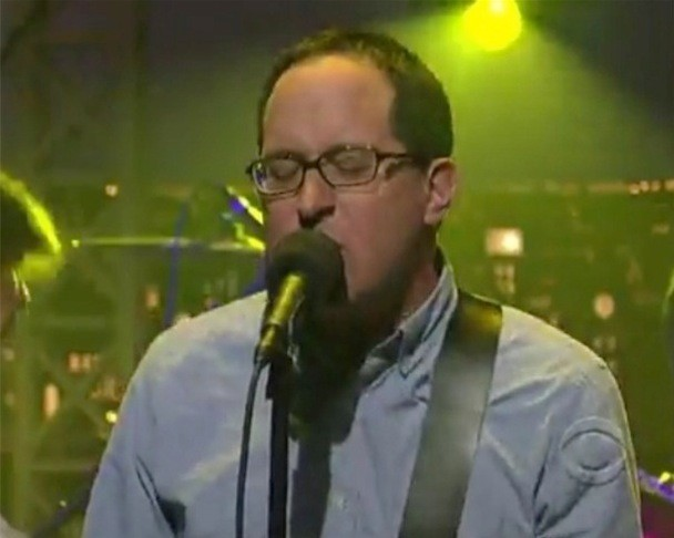 The Hold Steady - The Weekenders Letterman Video Tall