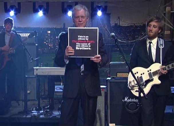 "The Black Keys ""Tighten Up"" On Letterman"