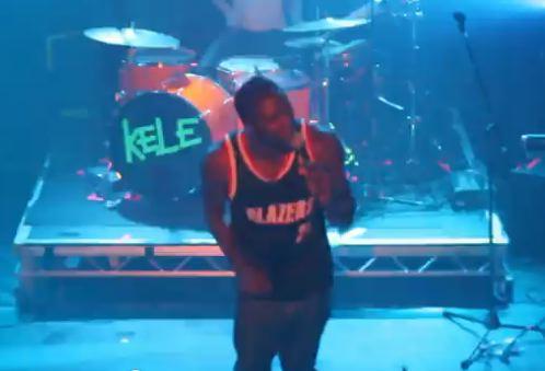 "Kele – ""Tenderoni"" Live Video"