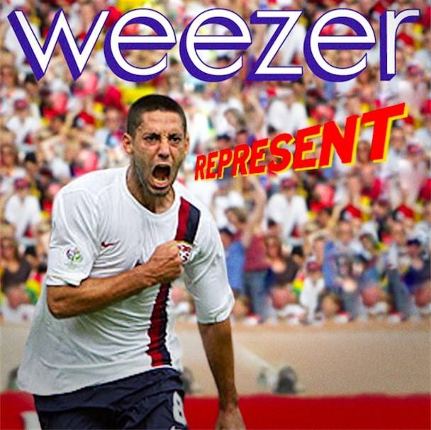 Weezer Represent Album Art