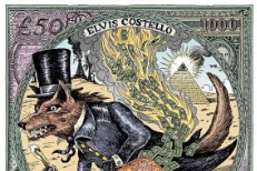 Elvis Costello National Ransom Album Art