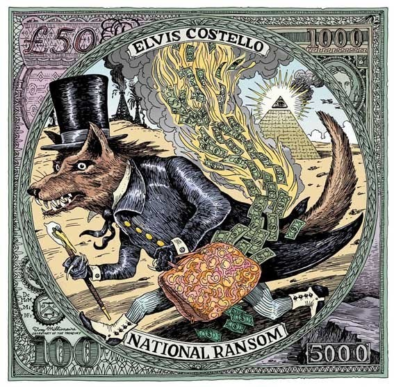 Elvis Costello National Ransom Album Art