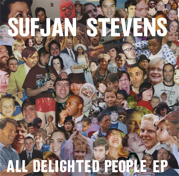 Sufjan Stevens All Delighted People Album Art