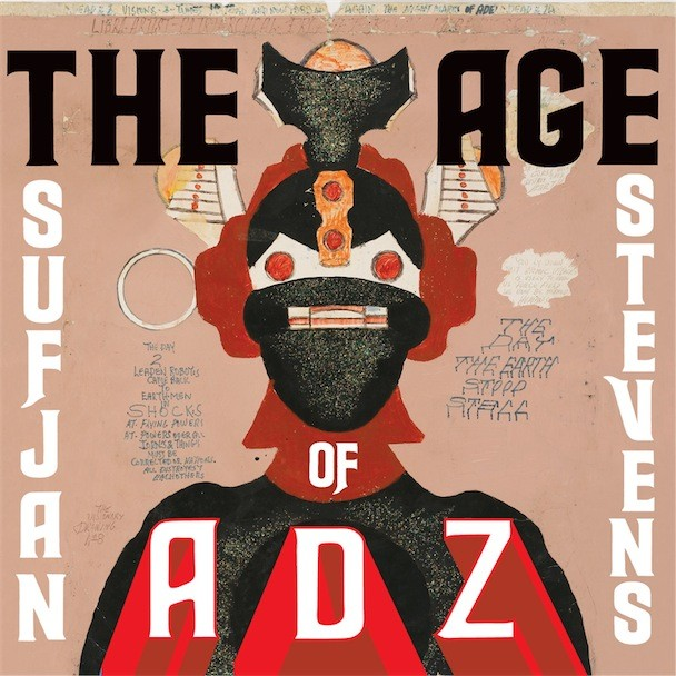 Sufjan Stevens The Age Of Adz Album Art