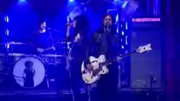 "The Dead Weather ""Blue Blood Blues"" Letterman"