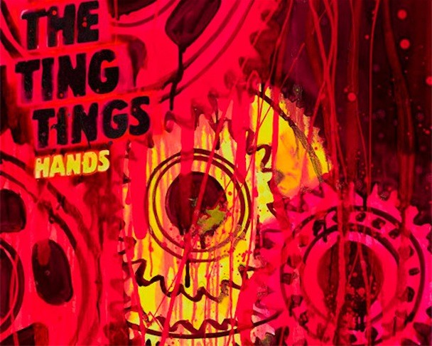 "The Ting Tings - ""Hands"" Album Art"