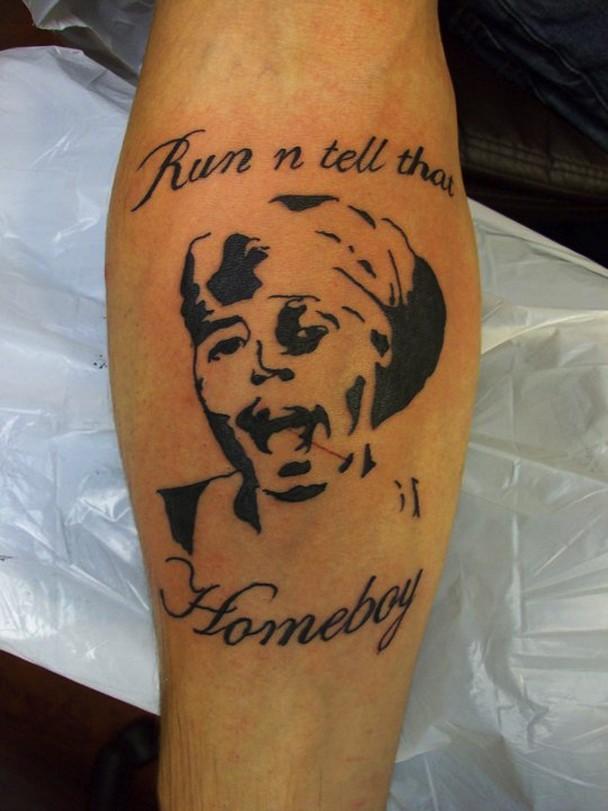 Antoine Dodson Tattoo