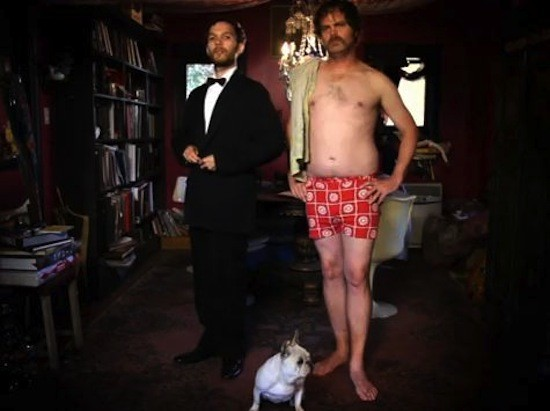 Ferraby Lionheart & Rainn Wilson