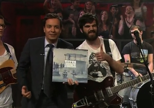 "Titus Andronicus Bring ""A More Perfect Union"" To Fallon"