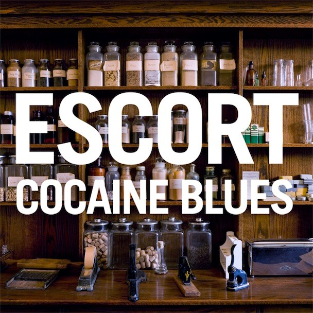 Escort Cocaine Blues Album Art