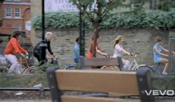 "Mark Ronson & The Business INTL – ""The Bike Song"" Video"