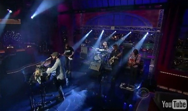 """The Black Angels - """"Telephone"""" On Letterman Video"""