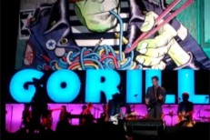Gorillaz Live MSG Lou Reed