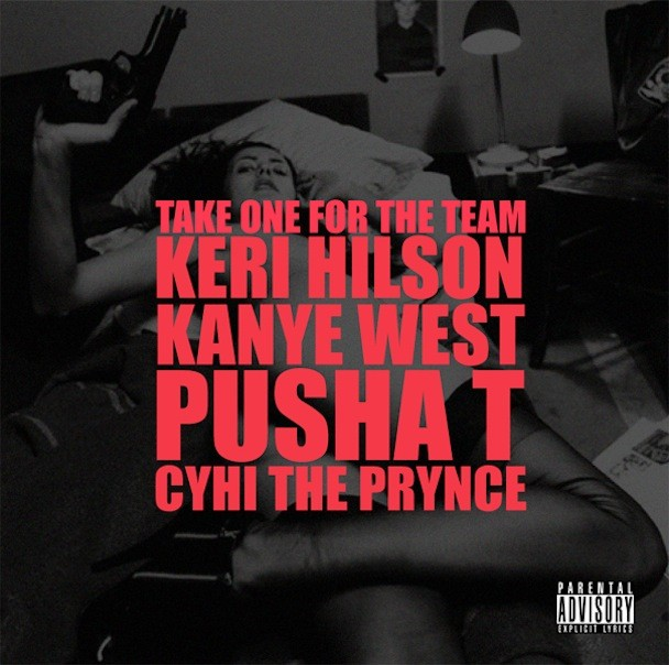 "Kanye West - ""Take One For The Team"" Album Art"