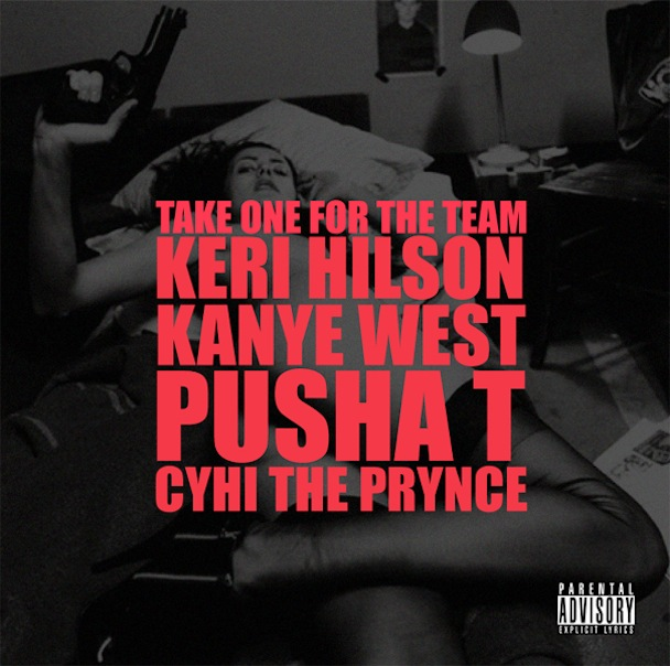 "Kanye West – ""Take One For The Team"" Album Art"