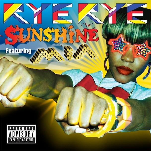 "Rye Rye ""Sunshine"" Album Art"