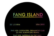 "Fang Islands – ""Patterns On Wall"" (Feat. Andrew W.K.)"
