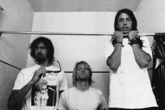Grohl, Novoselic, Vig Reunite For Next Foo Fighters LP