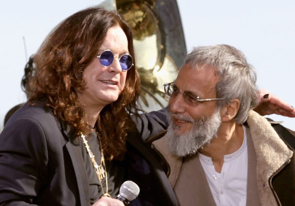 Ozzy Osbourne and Cat Stevens and Rally To Restory Sanity