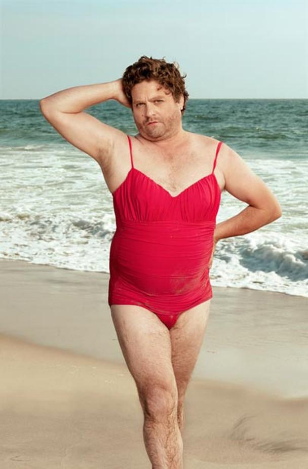 Zach Galifianakis Swimsuit