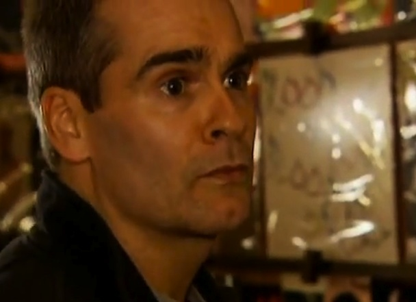 """Henry Rollins Scolds """"Young Elitist Hipters"""" At The Cake Shop"""