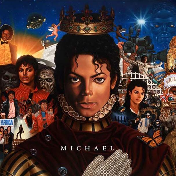 Michael Jackson - Michael 2010 Album Cover