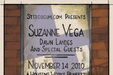 Stereogum Presents: Suzanne Vega & Dawn Landes, A Benefit For Housing Works