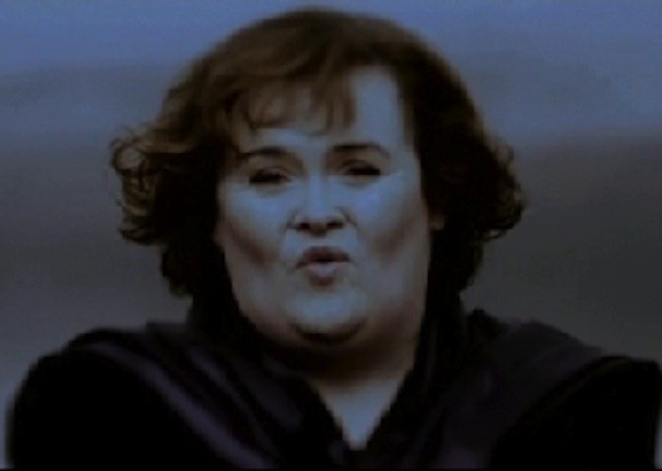 Susan Boyle Lou Reed Perfect Day Video