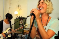 "Warpaint Do ""Undertow,"" ""Bees"" For Yours Truly"