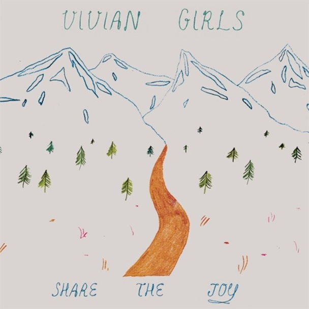 Vivian Girls &#8211; &#8220;I Heard You Say&#8221; &#038; <em>Share The Joy</em> Info