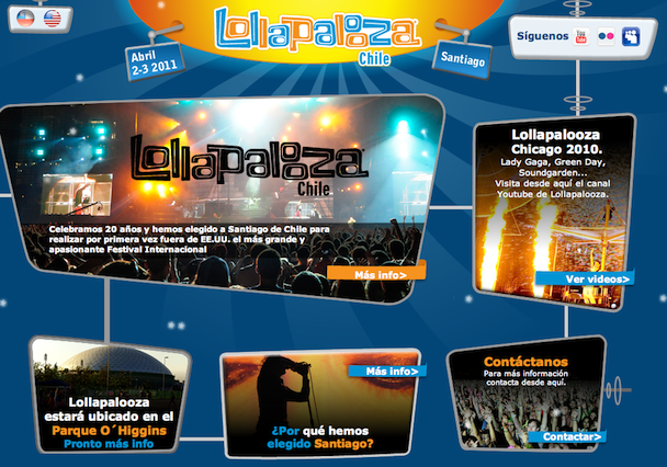 Lollapalooza Chile Lineup