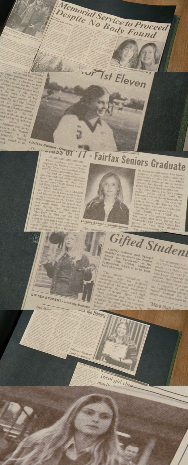 the hunt for the worst movie of all time the lovely bones stereogum she is definitely in the newspaper just the average amount of times for any teenager we ve all been in the newspaper this much before the age of 16