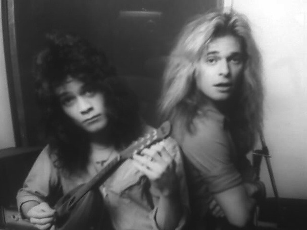 Van Halen Recording With David Lee Roth