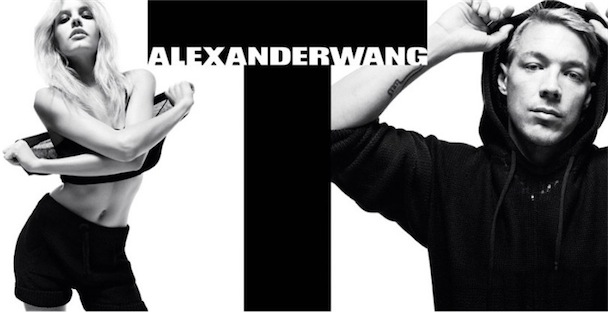 Diplo Alexander Wang Ashley Smith