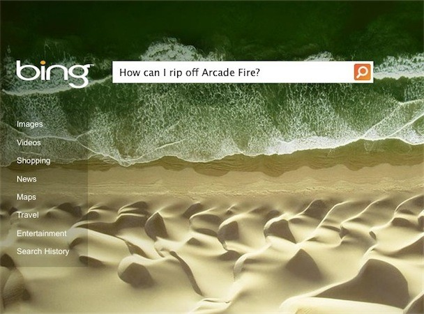 Microsoft Rips Off Arcade Fire