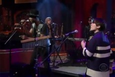 Theophilus London & Sara Quin on Letterman