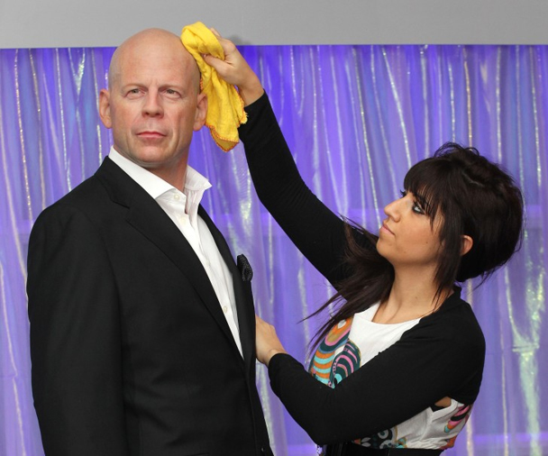 The Videogum <em>Why Don&#8217;t YOU Caption It?</em> Contest: Bruce Willis&#8217; Wax Figure