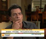 Charlie Sheen Does The Morning Shows! Still Completely Bonkers!