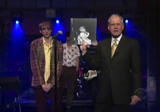 Expanded Deerhunter Do Letterman