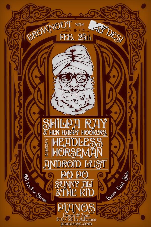 Headless Horseman Brownout Flyer