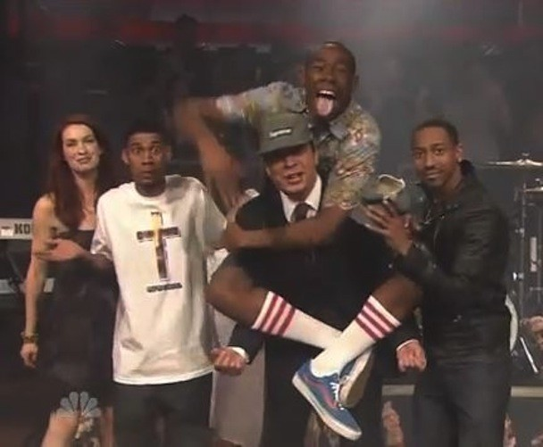 Odd Future On Jimmy Fallon (Literally)