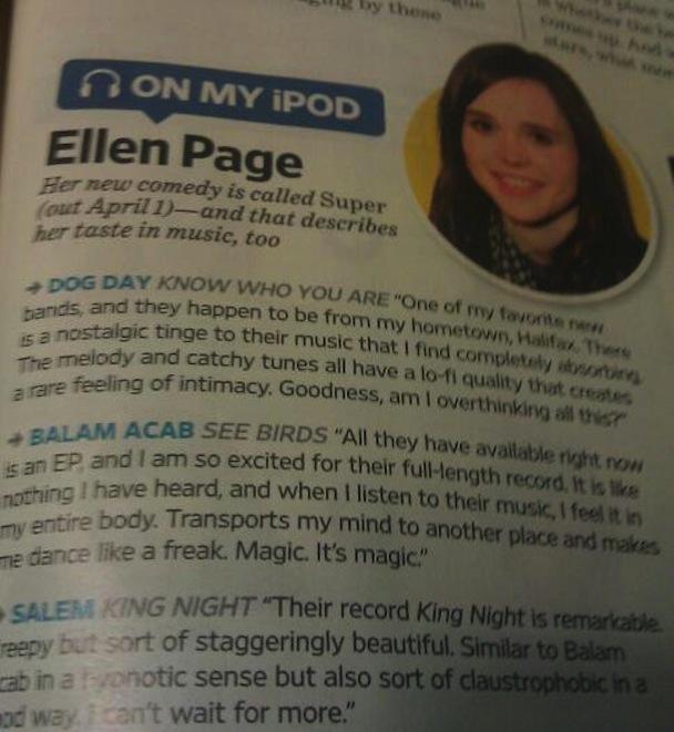 Ellen Page Balam Acab Salem EW
