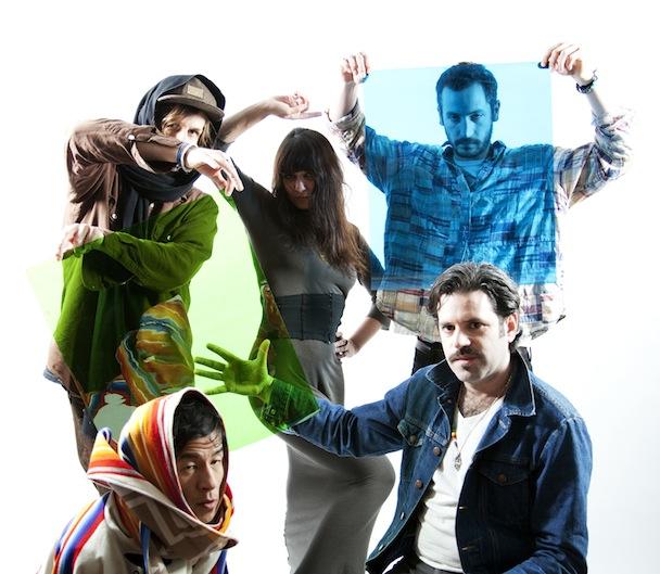 Gang Gang Dance Promo Photo 2011